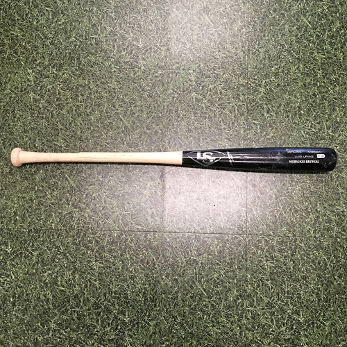 Photo of Luis Urias 10/09/21 Game-Used Cracked Bat - NLDS Game 2 - Broken Hitting 9th Inning Single
