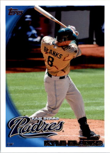 Photo of 2010 Topps #58 Kyle Blanks