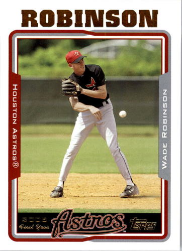 Photo of 2005 Topps #321 Wade Robinson FY RC
