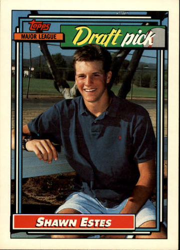 Photo of 1992 Topps #624 Shawn Estes RC
