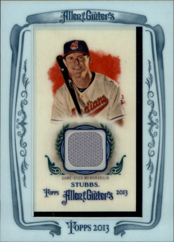 Photo of 2013 Topps Allen and Ginter Framed Mini Relics #DS Drew Stubbs