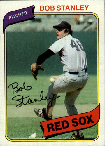 Photo of 1980 Topps #63 Bob Stanley