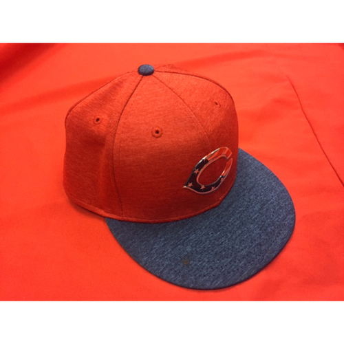 Joey Votto -- Game-Used Hat -- Worn During 1,500th Hit Game -- Reds @ Rockies July 4th Weekend