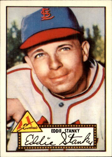 Photo of 1983 Topps 1952 Reprint #76 Eddie Stanky