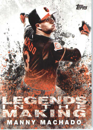 Photo of 2018 Topps Legends in the Making #LTMMM Manny Machado