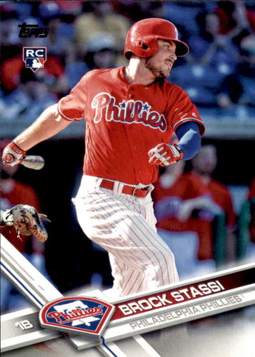 Photo of 2017 Topps Update #US171 Brock Stassi Rookie Card