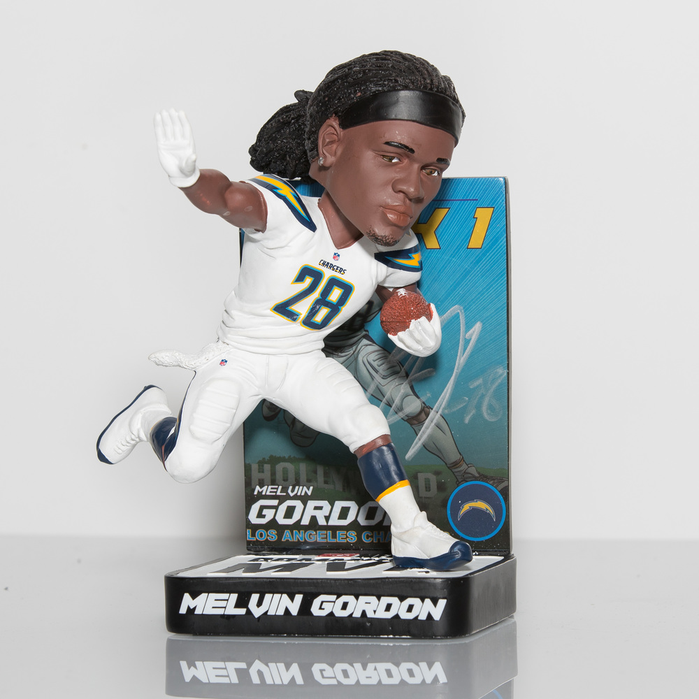 Chargers - Melvin Gordon signed Bobblehead - Limited Edition