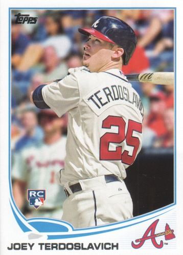 Photo of 2013 Topps Update #US45 Joey Terdoslavich RC