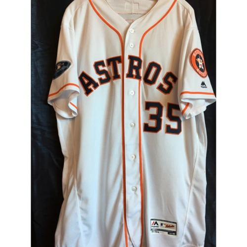 Photo of Justin Verlander 2018 Game-Used ALCS Game 5 Jersey