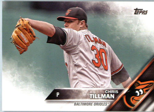 Photo of 2016 Topps #477 Chris Tillman