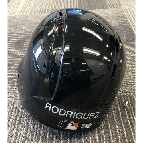 Photo of 2019 Team Issued Spring Training Helmet - #57 Dereck Rodriguez - Size 7 3/8