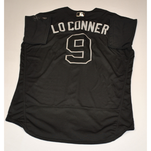 """Photo of Brian """"LO CONNER"""" Dozier Washington Nationals Game-Used 2019 Players' Weekend Jersey"""