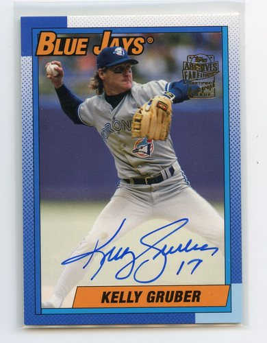 Photo of 2019 Topps Archives Fan Favorites Autographs #FFAKG Kelly Gruber