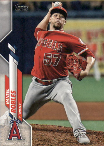 Photo of 2020 Topps #339 Hansel Robles