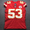 STS - Chiefs Anthony Hitchens Signed Game Used Jersey Size 40 (11/3/19)