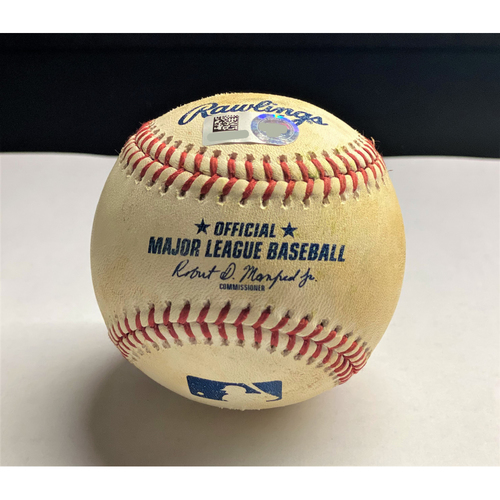 Photo of Victor Reyes 2020 Opening Day Home Run Baseball (MLB AUTHENTICATED)