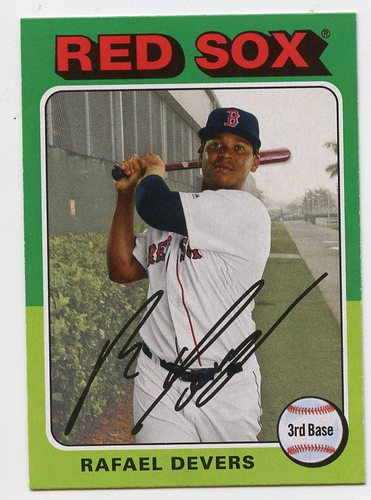 Photo of 2019 Topps Archives #147 Rafael Devers