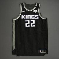 Richaun Holmes - Sacramento Kings - Game-Worn Statement Edition Jersey - 2019-20 NBA Season Restart with Social Justice Message