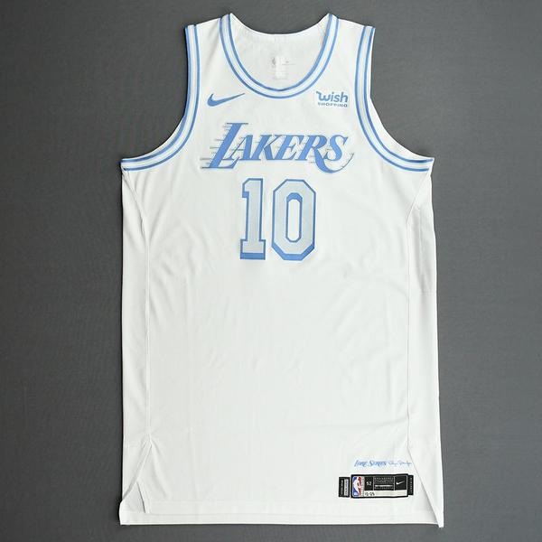 Image of Jared Dudley - Los Angeles Lakers - Christmas Day' 20 - Game-Worn City Edition Jersey