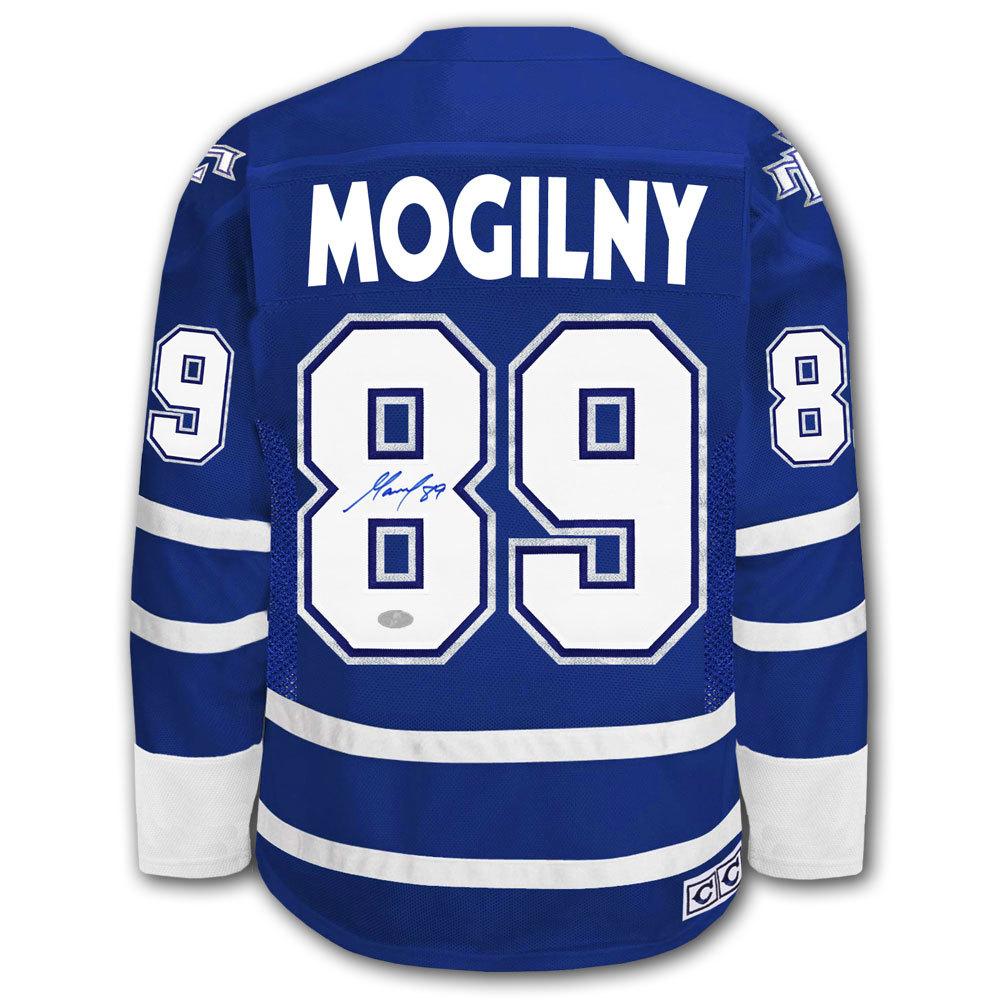 promo code 8a8bb e5b98 Alexander Mogilny Toronto Maple Leafs CCM Autographed Jersey ...