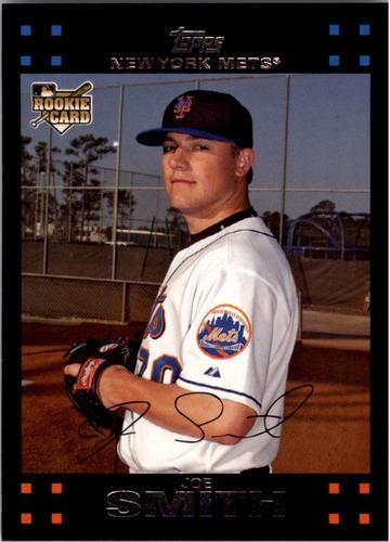 Photo of 2007 Topps #639 Joe Smith RC