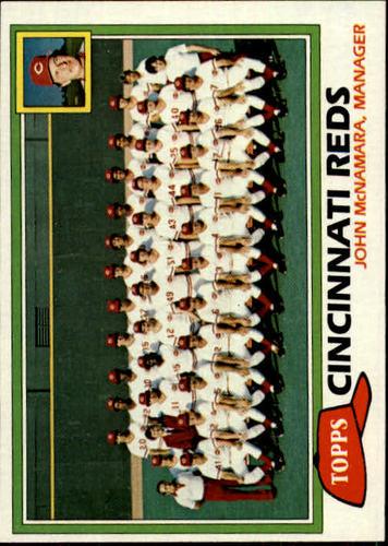 Photo of 1981 Topps #677 Reds Team CL/John McNamara MG