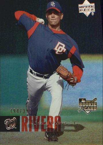 Photo of 2006 Upper Deck Rookie Foil Silver #995 Saul Rivera /399