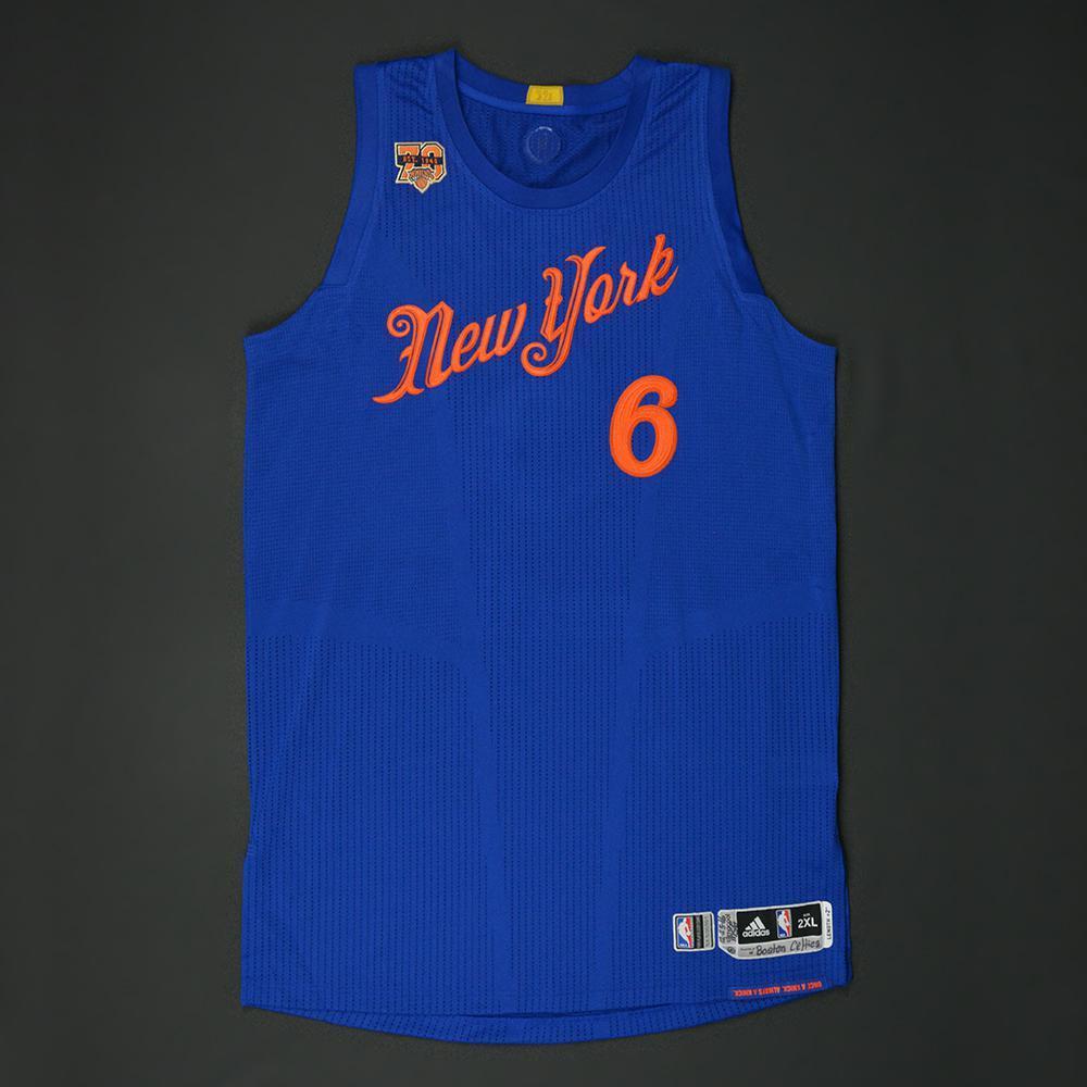 07b79dbdb Kristaps Porzingis - New York Knicks - NBA Christmas Day  16 - Game-Worn