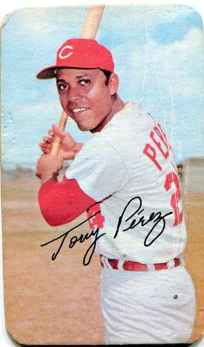 Photo of 1971 Topps Super #6 Tony Perez