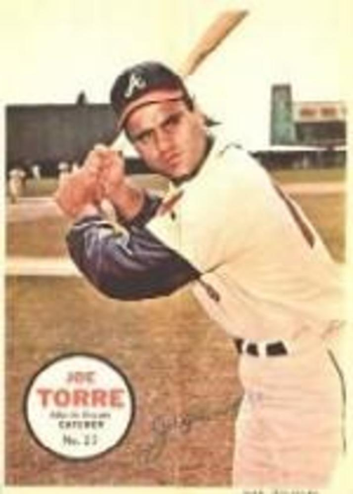 1967 Topps Posters Inserts #27 Joe Torre