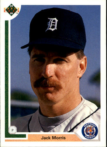 Photo of 1991 Upper Deck #336 Jack Morris -- Newest Hall of Famer Class of 2018