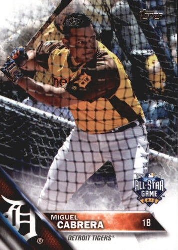 Photo of 2016 Topps Update #US290A Miguel Cabrera AS