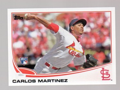 Photo of 2013 Topps Update #US175 Carlos Martinez Rookie Card