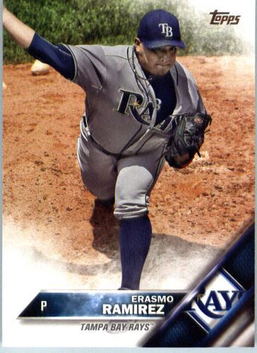 Photo of 2016 Topps #483 Erasmo Ramirez