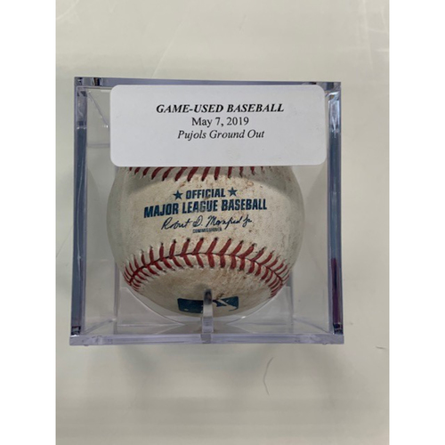 Photo of Game-Used Baseball: Albert Pujols Ground Out