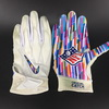 Crucial Catch - Chargers Kyle Emanuel Game Used Gloves (10.07.18