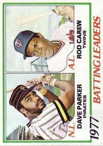 Photo of 1978 Topps #201 Batting Leaders/Dave Parker/Rod Carew