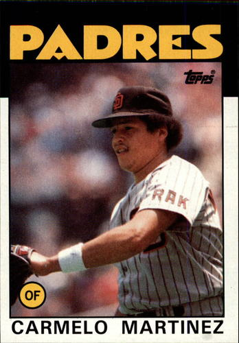Photo of 1986 Topps #67 Carmelo Martinez