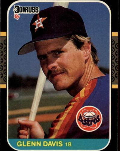 Photo of 1987 Donruss #61 Glenn Davis
