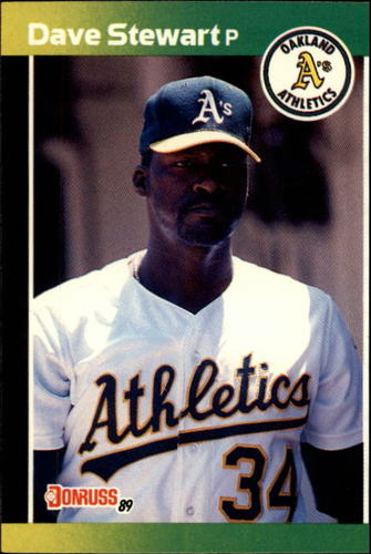 Photo of 1989 Donruss #214 Dave Stewart
