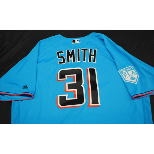 Photo of Team Issued 2019 Spring Training Jersey: Caleb Smith #31