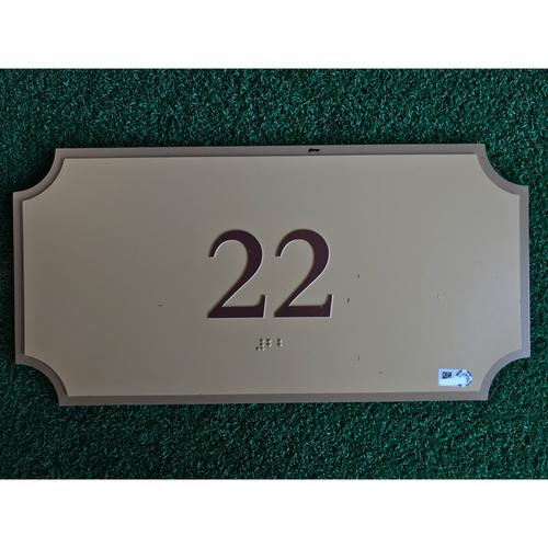Photo of Minute Maid Park Stadium Suite 22 Sign