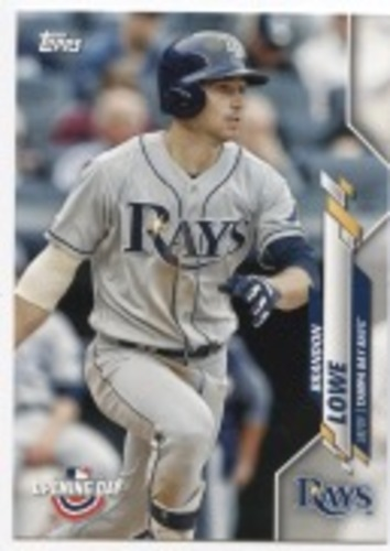 Photo of 2020 Topps Opening Day #165 Brandon Lowe