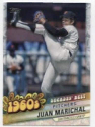 Photo of 2020 Topps Decades' Best Series 2 #DB12 Juan Marichal