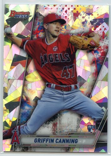 Photo of 2019 Bowman's Best Atomic Refractors #63 Griffin Canning