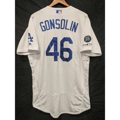 Photo of Tony Gonsolin Team-Issued 2019 Home Jersey