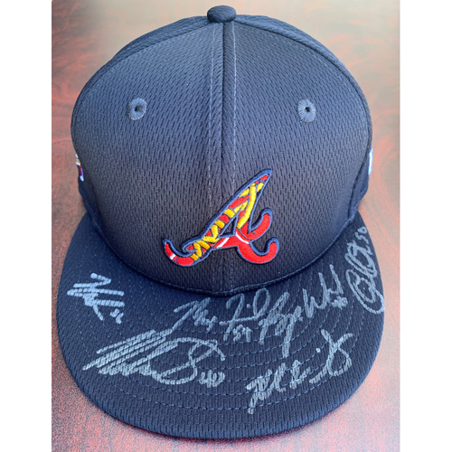 Photo of 2021 Atlanta Braves Starting Pitcher Autographed Hat