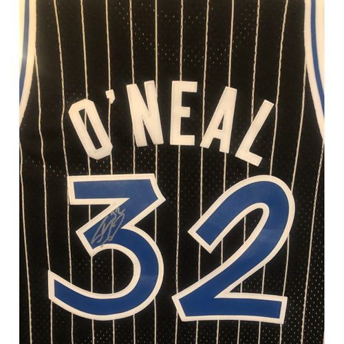Photo of LOT #49: Autographed Shaquille O'Neal Orlando Magic Jersey - Size Medium
