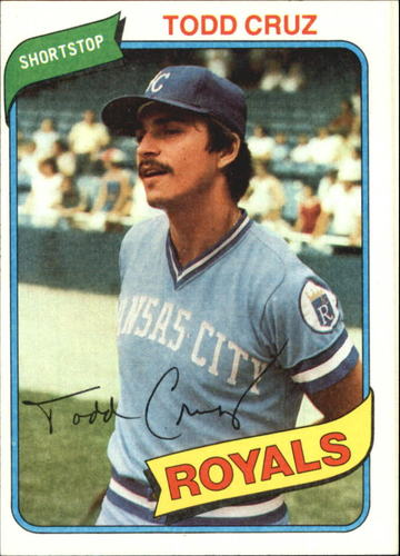 Photo of 1980 Topps #492 Todd Cruz RC