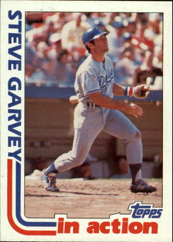 Photo of 1982 Topps #180 Steve Garvey IA